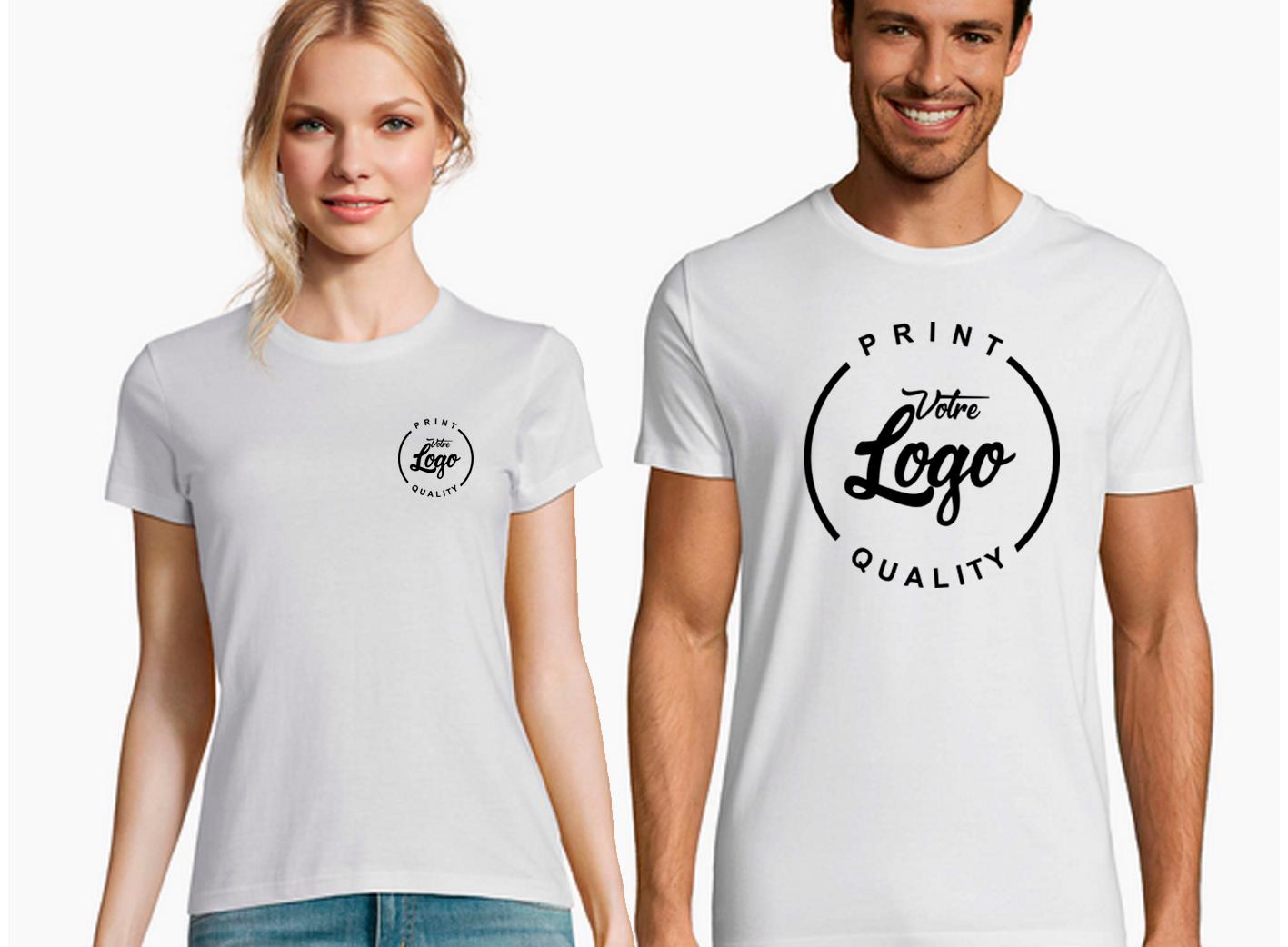 Tee Shirt Personnalisé Pas Cher - Votre Logo
